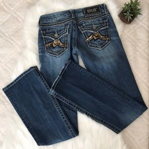 Miss Me Sequin Bootcut Jeans
